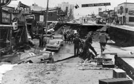 Землетрясение в Анкоридже