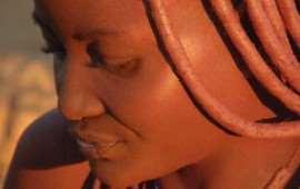Africa, Namibia, donna Himba