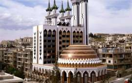 Rahman Mosque in Syria