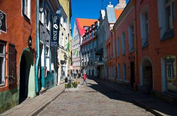 Старые и новые города эстонии