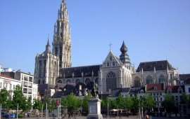 Знакомство с Антверпеном: Собор Антверпенской Богоматери
