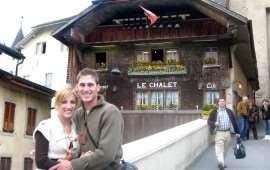 Рестораны Chalet de Gruyeres и Le Mazot