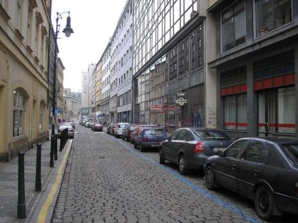 На улицах Праги