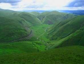 Зеленые холмы Шотландии