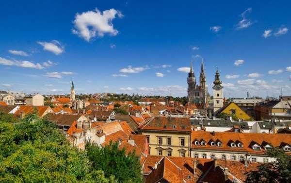 Загреб. Столица графства