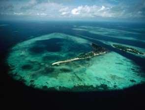 В Индонезию. Островок в океании