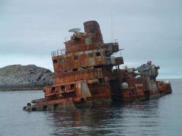 Северная Норвегия. Остров погибшего корабля