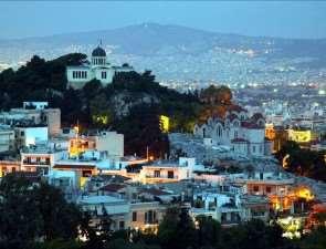 Божественный город Афины
