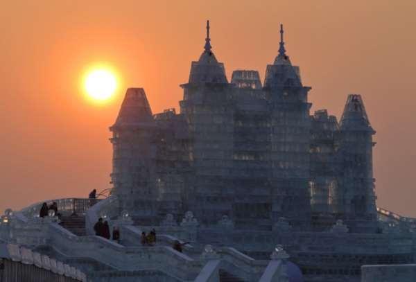 Ледяной город, харбин, Китай