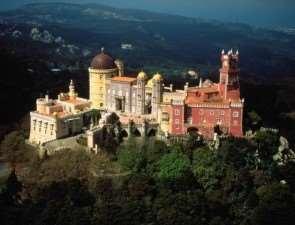 Дворец пена, Синтра, Португалия
