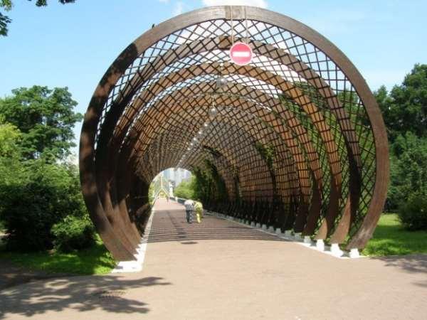 Пешеходные мосты Москвы