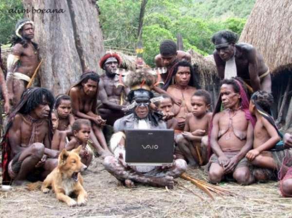 Африка. А как там с Интернетом?
