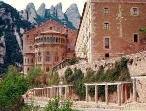 Монастырь в испанской провинции – Монсеррат
