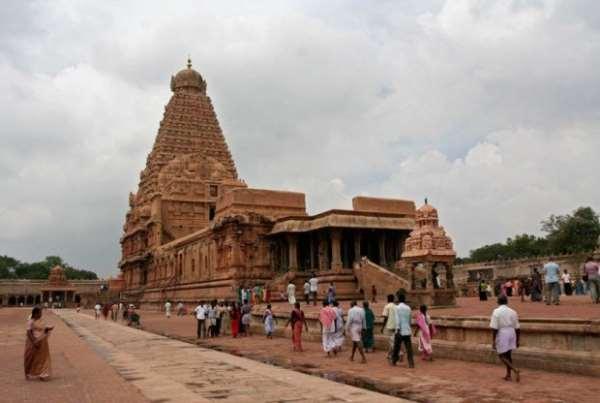 Храм Шивы в Танджавуре