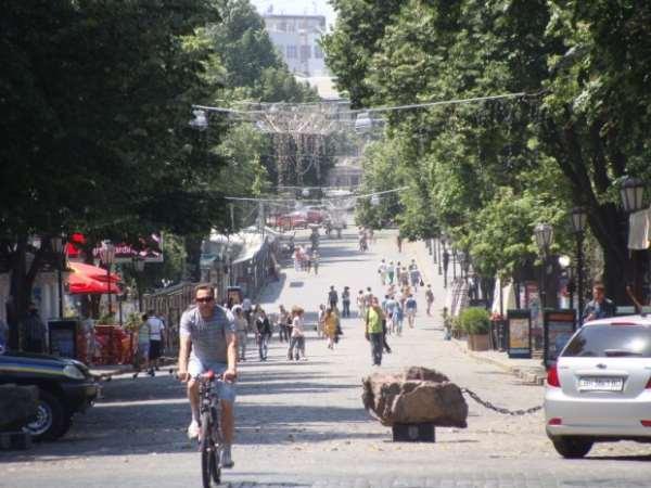 Прогулка по Дерибасовской