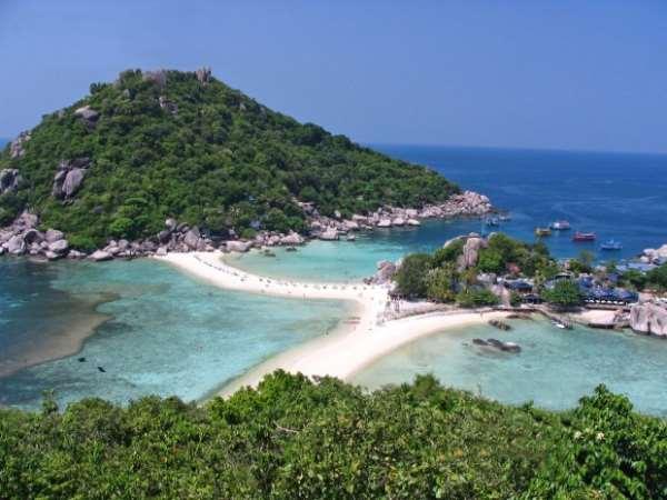 Первозданные чудеса таиского острова