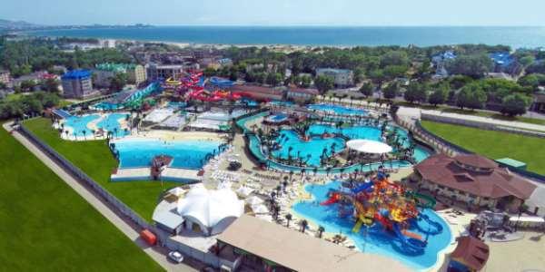 Самый крупный в Европе аквапарк