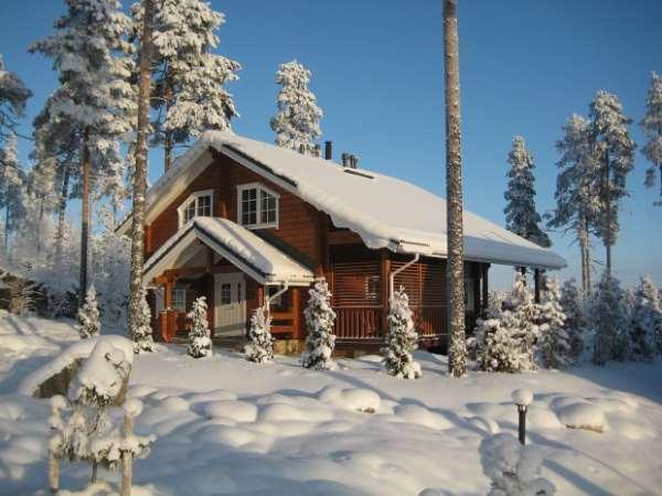 Зимний корпоратив в Финляндии