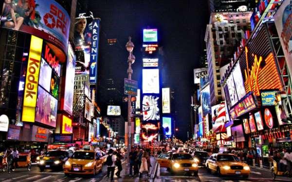 Нью-Йорк — неспящий мегаполис