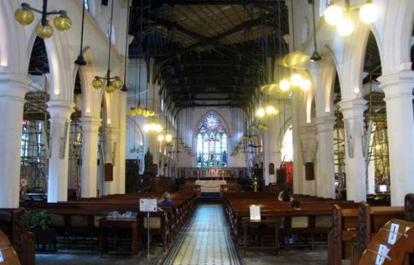 Собор святого Джона - англиканская церковь Гонконга