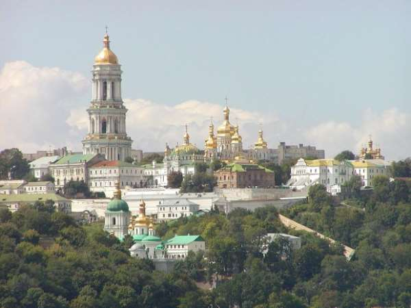 Маковки церквей Киева