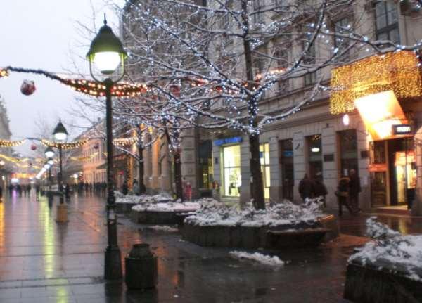 Новый год в Сербии