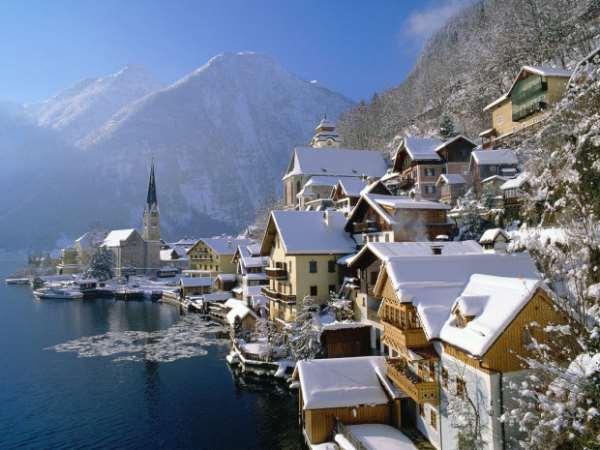 Зимняя Австрия