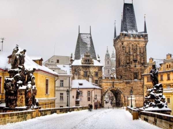 Великолепная зимняя Чехия
