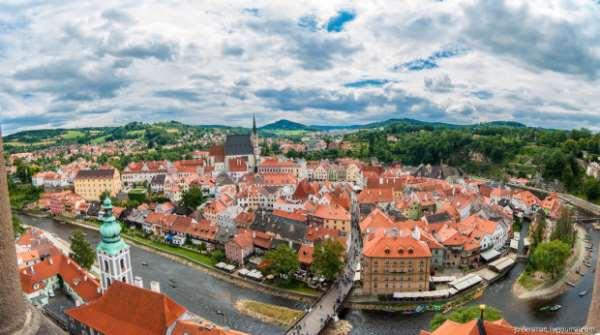 Чешский Крумлов: город европейской старины