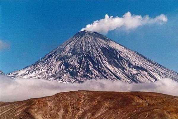 Наиболее известные действующие и спящие вулканы России