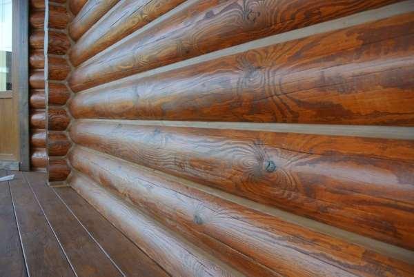 Как выполняется теплый шов в доме из дерева