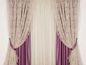 Тюль, вуаль, органза - идеальное оформление окна