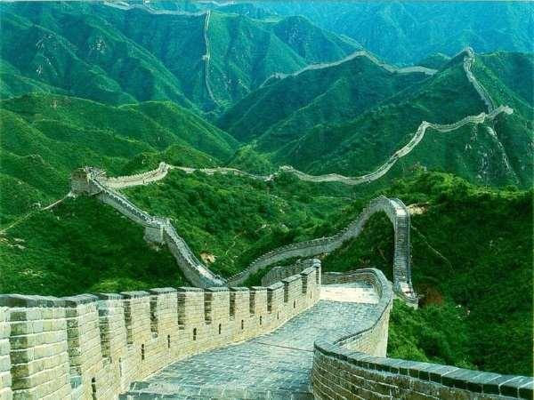 Великая Китайская стена - невероятный архитектурный памятник