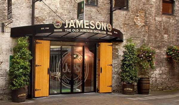 Путешествие в Ирландию - посещение музея виски Джона Джеймсона