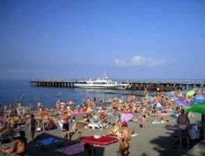 Адлер, лето, море, отдых