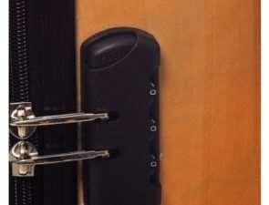Как установить кодовый замок для чемодана