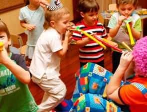 Разные развлечения для детского досуга