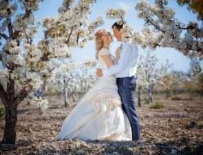 Свадьба весной - советы и идеи
