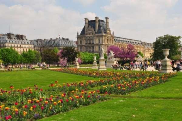 Прогулки в парках Парижа
