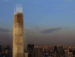 В Японии построят огромное деревянное здание коммерческого назначения высотой 350 метров