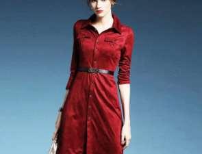 Платья из замши как модное и оригинальное пополнение гардероба
