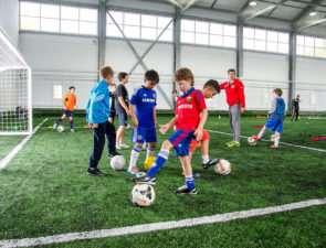 Важные моменты обучения ребенка футболу