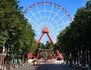 Парк развлечений в Харькове место, где дети счастливы