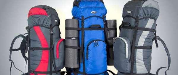 Походный рюкзак – особенности каркасной и бескаркасной модели