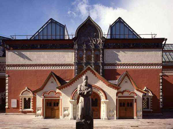 Третьяковская галерея или огромная коллекция бесценной живописи
