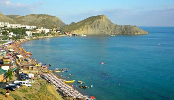 Преимущества отдыха на море в Крыму