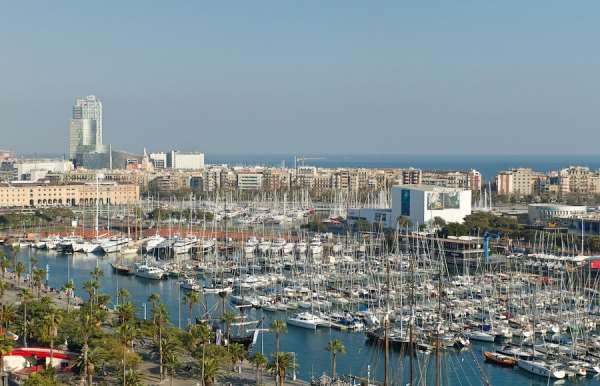 Морской порт Барселоны или кипящий водоворот жизни