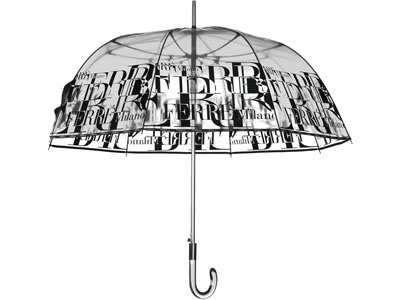 Зонтик с прозрачным куполом – оригинальное решение для модного образа