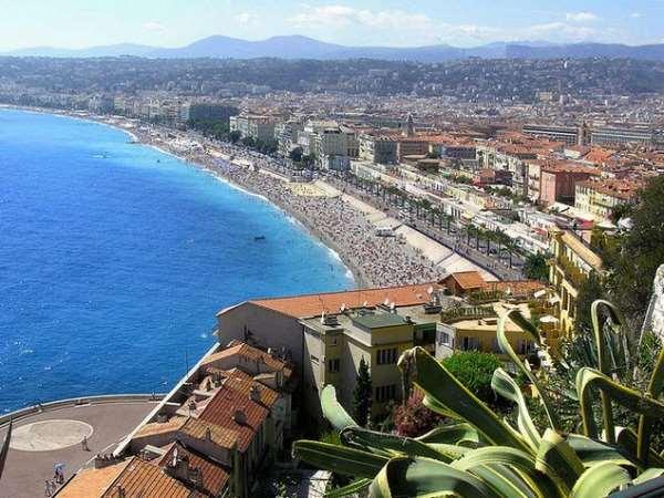 Наиболее известные города-курорты Франции