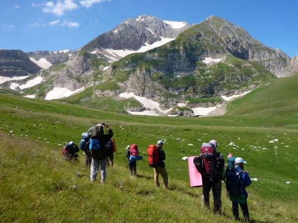 Горный туризм на Кавказе